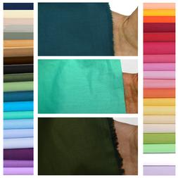 100% Pure Cotton Fabric Quilting Quilt Bedding Sheet Sewing
