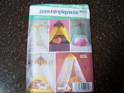 Simplicity 5126 Easy Bed Canopies Pattern 5 Variations Home