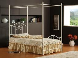 Hillsdale Furniture 1354BFP Westfield Canopy Bed Set, Full,
