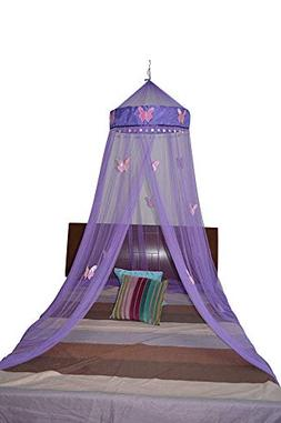 Octorose Butterfly Bed Canopy Mosquito NET Crib Twin Full Qu
