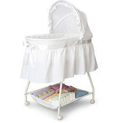Baby Bassinet Portable Nursery Cradle Infant Basket Crib Tra