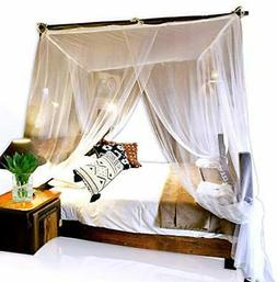 Basik Nature Jumbo Mosquito Net Canopy for Queen-King Size B