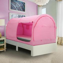 Bed Sleeping Pink Tents Portable Tent Canopy Privacy Space T