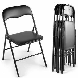 Commercial Black Plastic Folding Chairs 4/5/6 PCS Wedding Pa
