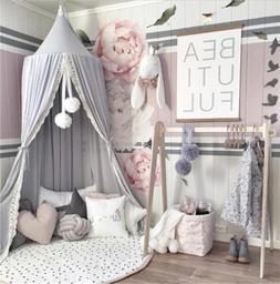 Cotton Kid Baby <font><b>Bed</b></font> <font><b>Canopy</b><