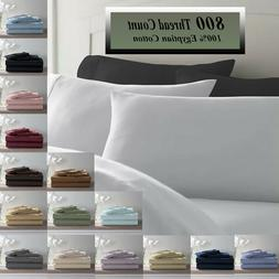 Deluxe Ultra Soft 800 Thread Count 100% Pure Cotton Solid Be