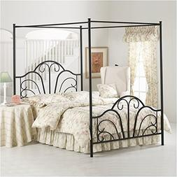 Hillsdale Hillsdale Dover Canopy Bed Frame - Queen - 348BKPR