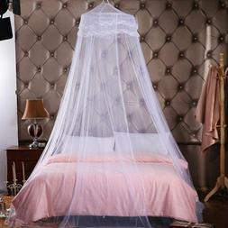 Elegant Lace Dome Mosquito Net Encrypted Hanging Canopy Curt