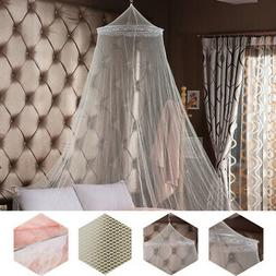 Elegant Round Lace Insect Bed Canopy Netting Curtain Dome Mo