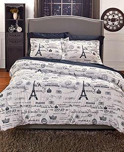 F/Q Vintage Paris Comforter Set by GetSet2Save