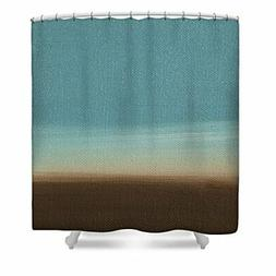 ChadMade Fabric Waterproof SkyBlue Brown Colorful Ombre Oil