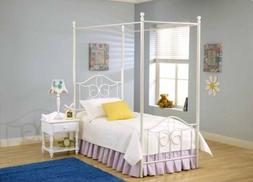 Hillsdale Furniture Westfield Canopy Bed Set - Twin - Rails