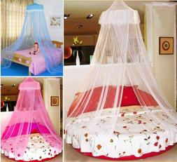 HOT Cute Baby Princess Canopy Crib Netting Dome Bed Mosquito