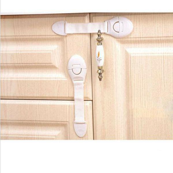 10x Kids Drawer Cabinet Cupboard Door Safe Safety Locks