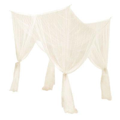 Corner Post Bed Curtain Mosquito