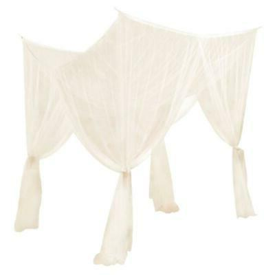 2pcs 4 Corner Post Bed Curtain Mosquito