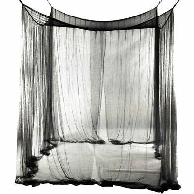 4 Corner Canopy Queen Size Bedroom Mesh