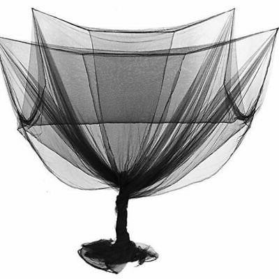 4 Corner Post Bed Canopy Full Queen Size Bedroom Mosquito Net Mesh