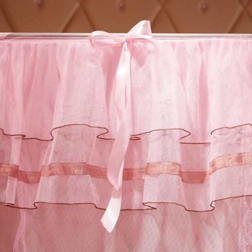 4 Corners Canopy Girls Bedroom Decoration