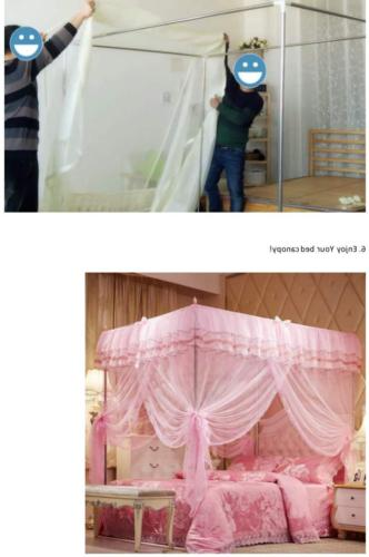 Canopy Bed Girls Bedroom Decoration