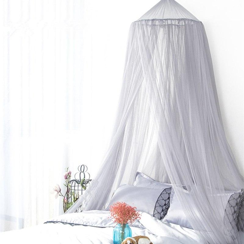 7 Baby Dome <font><b>Canopy</b></font> Cotton Bedcover Curtain Baby Decor