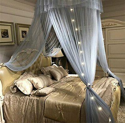 Bed Lace Hoop Sheer Mesh Bed -