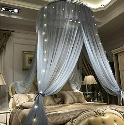Bed Lace Round Sheer -
