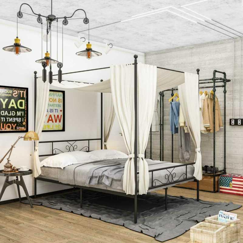 Canopy Platform Size Duty Bedroom