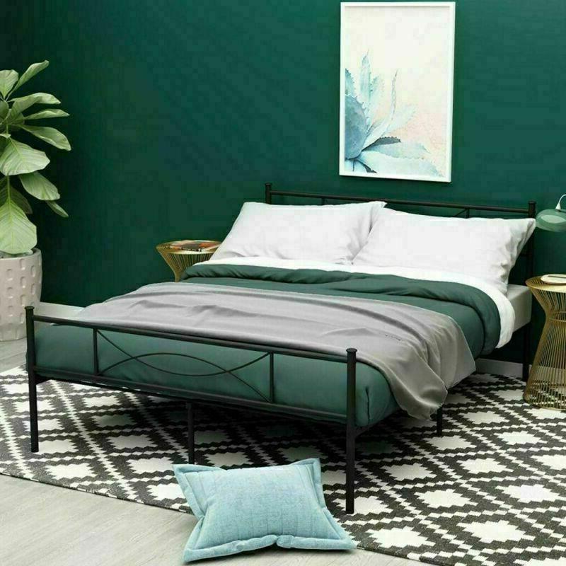Canopy Bed Platform Queen Size Bedroom