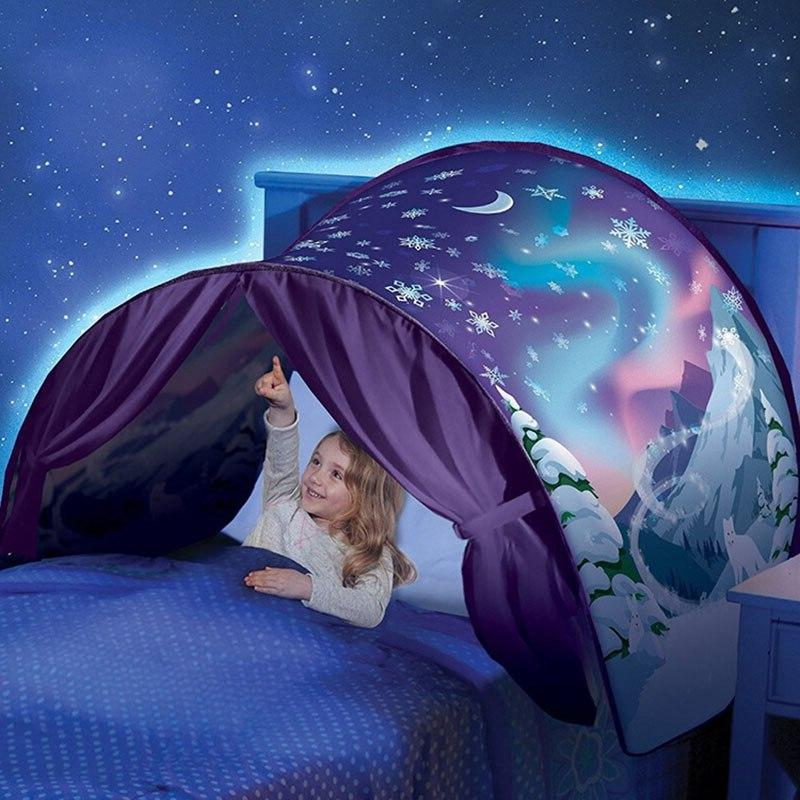 shincoo Starry Tent Children's <font><b>Bed</b></font> Folding Light-blocking Tent Indoor Mosquito