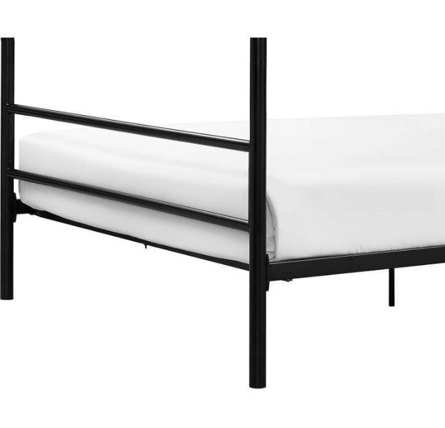 Classic Queen Metal Platform Bed w/