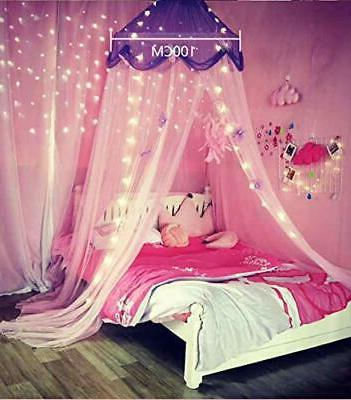 Comfort Net Curtain Purple
