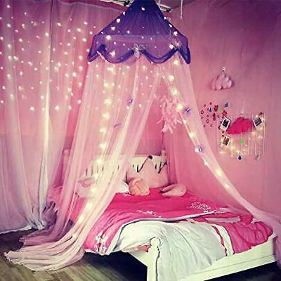 Comfort Blue Star Net Canopy Curtain and