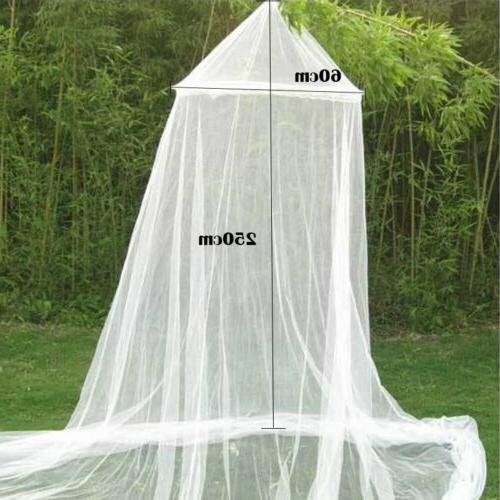 Dome <font><b>Bed</b></font> <font><b>Canopy</b></font> Netting King Fly Protection