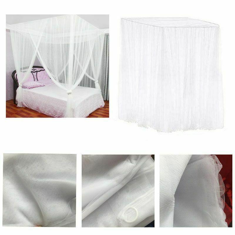 European Style Bed Canopy Corner Bedroom Decor
