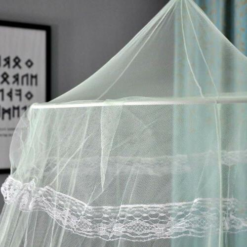 Hanging Canopy Queen Size Princess Mosquito Fly Net White