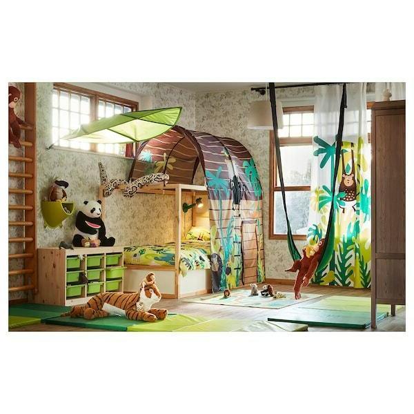 IKEA KURA Bed Jungle House Sleeping Canopy Kid Privacy Cottage