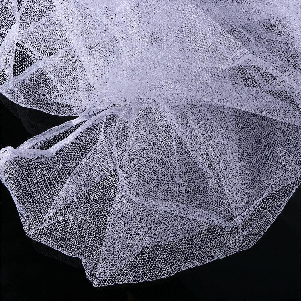 Large 4 Bed Canopy Mosquito Full Netting Bedding
