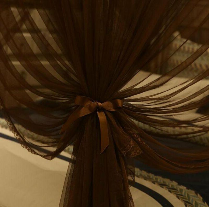 Nattey Bed Curtain Netting (Queen,