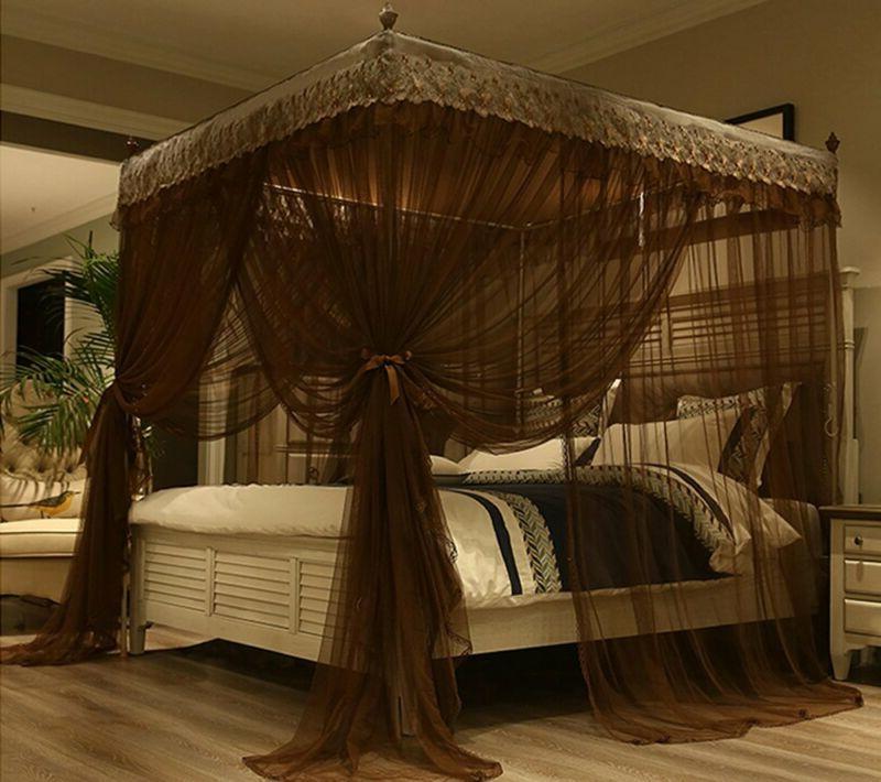 Nattey Luxury Bed Curtain Canopy Netting Coff