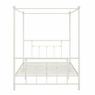 DHP Metal Canopy Bed in Frame in