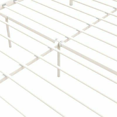 DHP Manila Canopy Bed Queen Frame in White