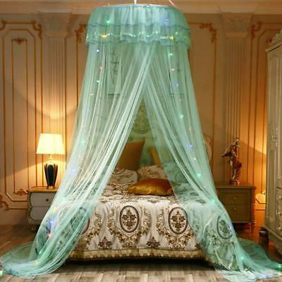 Mesh Bed Canopy Fits Hung Dome Mosquito Net Crib Twin Double