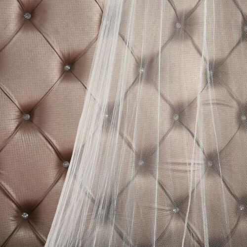 Size Bedding Lace Canopy Elegant US