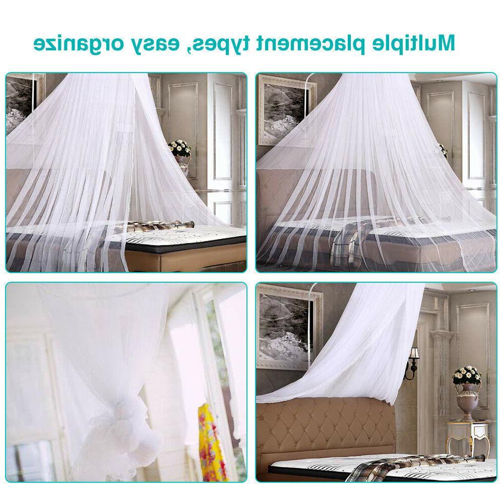 Mosquito Queen Size Bedding Canopy Elegant US
