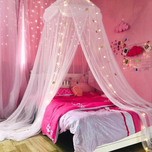 princess star bed canopy bedroom lace mosquito