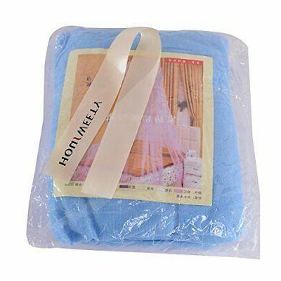 New Round Dome Netting Princess Mosquito Net Blue