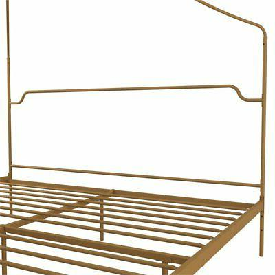 Novogratz Camilla Canopy Bed Frame in