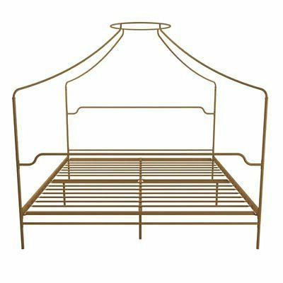 Bed in Size Frame in Gold