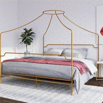 Novogratz Camilla Canopy Bed in Frame in